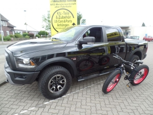 Mongoose Fat Bike / Fun Bike  Dodge Ram Rebel Ram Box